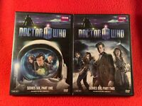Doctor Who Series Six Parts One & Two DVD 2011 4-Disc Set David Tennant BBC USA