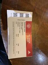 More details for cristiano ronaldo debut 21/22 manchester united v newcastle united ticket stub