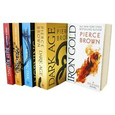 Red Rising Series 5 Books Young Adult Collection Paperback Set By Pierce Brown
