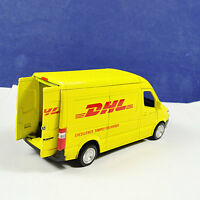 Diecast 1/36 Commerical Vehicle RC Model Car For Express DHL Truck Kids Toy Gift