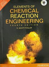 New-Elements of Chemical Reaction Engineering H. Scott Fogler 4 ed INTL ED