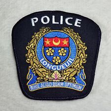 Canadian Longueuil Police Guard Officer Constable Patch Badge Insigne Crest Logo