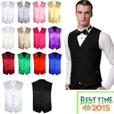 "Mens Formal Waistcoat Size 36"" -  48"" Chest Available S M L XL 2XL 3XL 4XL"