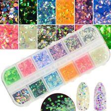 GLITTER PAILLETTES  sirena rombo broken glass  NAIL ART MANICURE nagel ongles