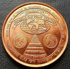 1983 Wildwood Alberta $2 Trade Token - World Coin Week - Bronze - UNC