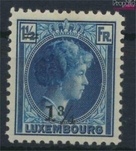 Luxembourg 220 with hinge 1929 print edition (9613526
