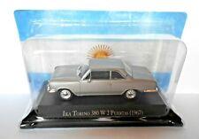 DIE CAST - IKA TORINO 380 W 2 PUERTAS 1967 AUTOS INOLVIDABLES SALVAT SCALA 1/43