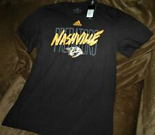 Nashville Predators Amplifier t-shirt men's medium Adidas NHL NEW with Tags