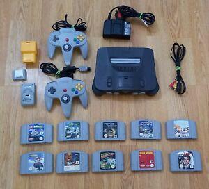Nintendo 64 Console bundle Lots Games Star Wars, Turok