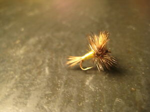 6 Size 18 GRIZZLEY WULFF PREMIUM LIGAS FLY FISHING FLIES