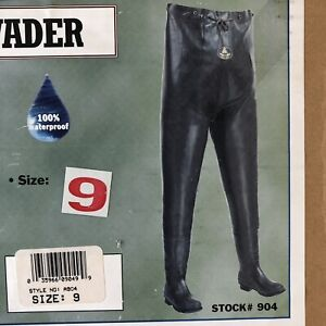 Pro Line Rubber Chest Waders Brown Size 9