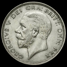 1927 George V Silver Half Crown, Third Coinage, Modified Effigy, VF