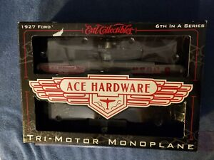 ERTL ACE HARDWARE STORES 1927 FORD TRI-MOTOR MONOPLANE 6th In Series #19939P