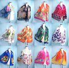 lot of 5 wholesale chiffon scarf wrap shawl women gifts bulk lot