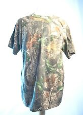 Whitewater Outdoors T-shirt camo Realtree Hardwoods 100% Cotton XL