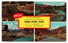 1960s Tom-Tom Inn, Salida, CO Postcard