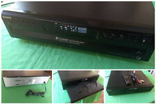 SONY CDP-CE375 Compact 5 Disc CD Player Remote Control Cables Basic Instructions