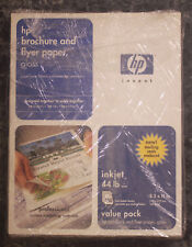 HP Brochure and Flyer Paper, Glossy (88 Sheets) 44 Lb. Bond 11x 17 C6820A - New