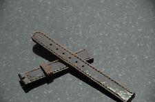 Perrin-Tiffany Tesoro 13mm Crocodile Watch Strap Brown