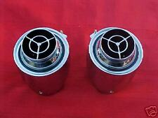 1956 56 CHEVY CHEVROLET DASH AIR CONDITIONING VENTS, NICE REPRO