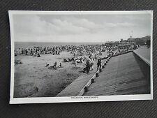 The Beach, Mablethorpe ~ Franked & Stamped c1939 ~ Vintage Postcard