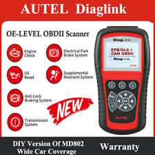 Autel DiagLink OBD2 Diagnostic Scanner Car ABS Airbag EPB Oil Reset Service Tool