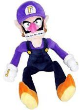 SUPER MARIO BROS. WALUIGI PELUCHE - 30Cm. -  Plush Princess Pupazzo Nintendo Toy