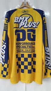 Vintage Bmx Plus Restyle DG Team scott Reprint Products Jersey Size XL