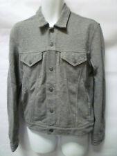 Levi's Cotton Trucker Jacket Coat Top Grey Marl Genuine New - M