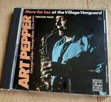 Audiophile OJC Contemporary CD ART PEPPER More for Les Village Vanguard vol 4