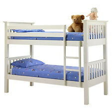 bunk bed  white pine  separates into 2 single beds