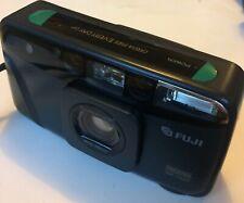 Near-Mint Fuji Cardia Mini Every Day OP Date Camera +Suede Case DL510 28mm Lens