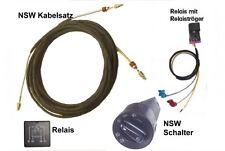 Kabelbaum Relais Sockel Lichtschalter NSW Nebelscheinwerfer Golf 4 IV nachrüsten
