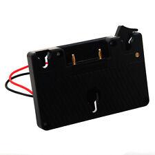 Gold Mount batterie appareil photo plaque Adaptateur Pour Panasonic/Anton Bauer Batterie C005