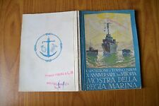 LIBRO ESPOSIZIONE TORINO 1928 X ANNIVERSARIO VITTORIA MOSTRA DELLA REGIA MARINA