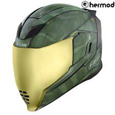 Icon Airflite Full Face Motorbike Motorcycle Helmet - Battlescar 2