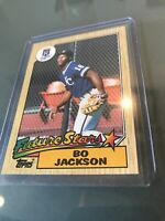 1987 Topps BO JACKSON Future Stars #170 ROOKIE CARD ,PRISTINE MINT CONDITION