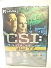 CSI: Crime Scene Investigation - Deadly Intent (PC, 2009) - European Version
