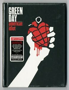 CD ★ GREEN DAY - AMERICAN IDIOT ★ COFFRET DIGIBOOK ED LIMITEE NEUF SOUS CELLO