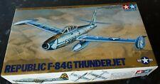 New sealed parts Tamiya 1/48 Republic F-84G Thunderjet vintage model kit