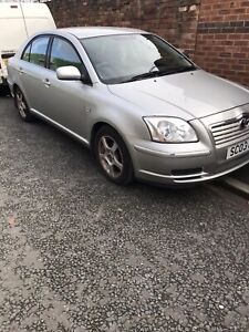 2003 Toyota avensis 1.8 ford spare wheel. Breaking