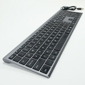 Wireless Keyboard VssoPlor 2.4GHz Slim with Numeric Keypad - No Mouse