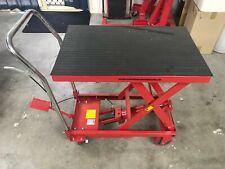 Scissor Lift Table Platform Trolley 230kg hydraulic