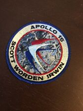"""Authenic Lion Brothers Apollo 15 embroidered NASA patch-4"""" 1976"""