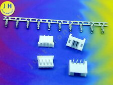 Kit 2x hembra + conector 4 polos + crimpkontakte Connector 2mm PCB abgewink #a1584