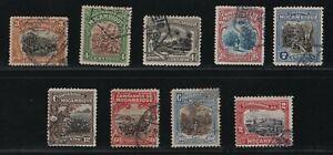Portugal - 1921-23 Mozambique Company - Local Scenes - Complete Set - Used