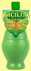Sicilia Organic Lime Juice - 4 oz