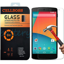 9H+ Premium Tempered Glass Screen Film Protector For LG Google Nexus 5