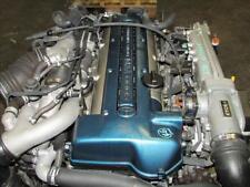 JDM Toyota Aristo Twin Turbo Front Sump VVTi 2JZ-GTE Engine Motor Auto Trans ECU