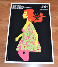 "24x36"" Cuban movie Poster 4 film Scalpel Face to Face.Flower girl.art.LAST 1"